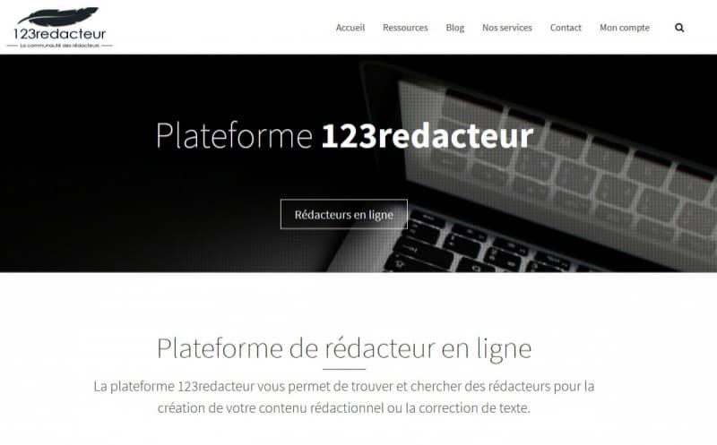 Plateforme de rédaction web
